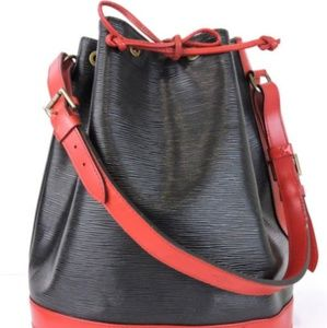LV Epi Noe Black and Red